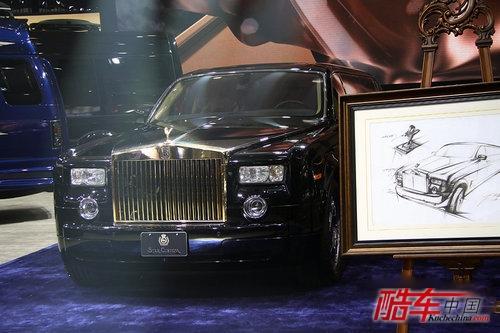 2012北京车展 劳斯莱斯幻影加长版高清图片