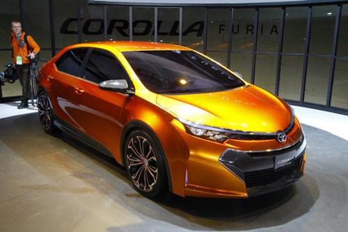 丰田发布了新   卡罗拉   概念车furia.丰田表示:新型   卡高清图片