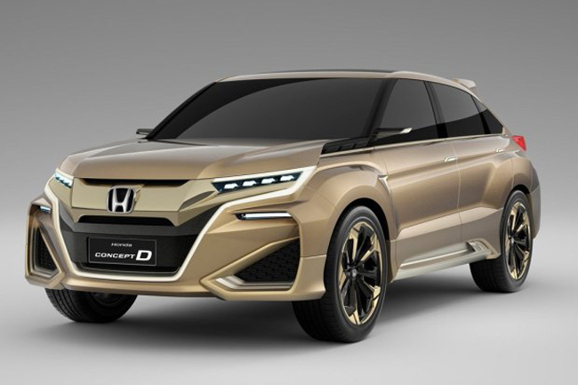 日前有国内媒体报道称,广汽本田将于2016年推出一款全新suv车型
