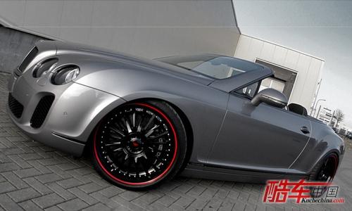 改装宾利欧陆GT敞篷车 嘻哈风格明星专属高清图片