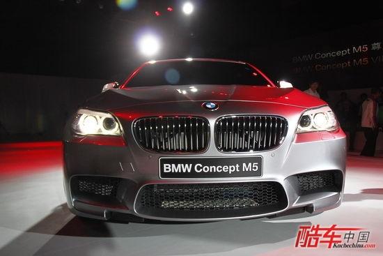 2011款宝马高性能轿跑车M5国内首发