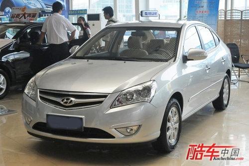 2008年,北京现代推出了伊兰特悦动车型,作为伊兰特